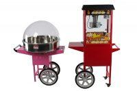 Combinatiepakket Popcorn- en Suikerspinmachine Huren