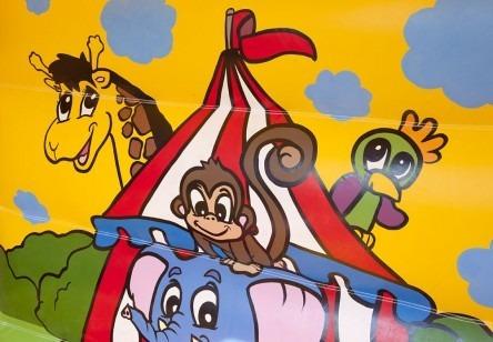 springkussen-circus-glijbaan-450