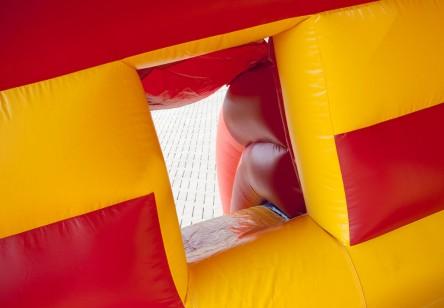 springkussen-circus-glijbaan-451